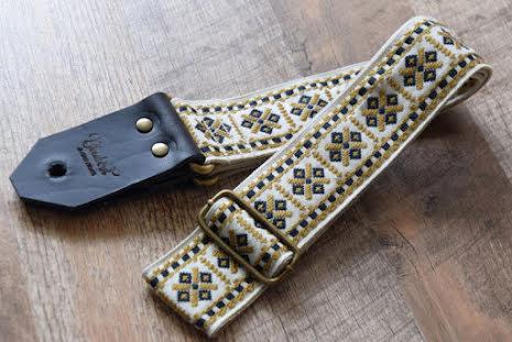 Bluebird Vintage & Rare Series Vintage Beige Cross Strap