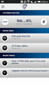 AUDL- screenshot thumbnail
