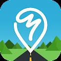 맵피 : 최강 내비게이션 (무료) icon