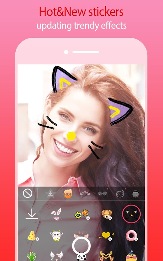 Sweet Selfie Pro - AR Selfie camera,Motion sticker- screenshot