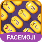 Emoji Keyboard Theme With Cute Emotions For Girls