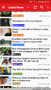 Freader1 - Formula Racing News screenshot 0