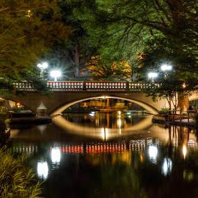 SanAntonio Riverwalk by Tracy Riedel-Dorsch - Travel Locations Landmarks ( texas, riverwalk, sanantonio, portraits, streets, children, people, work, , bridge )