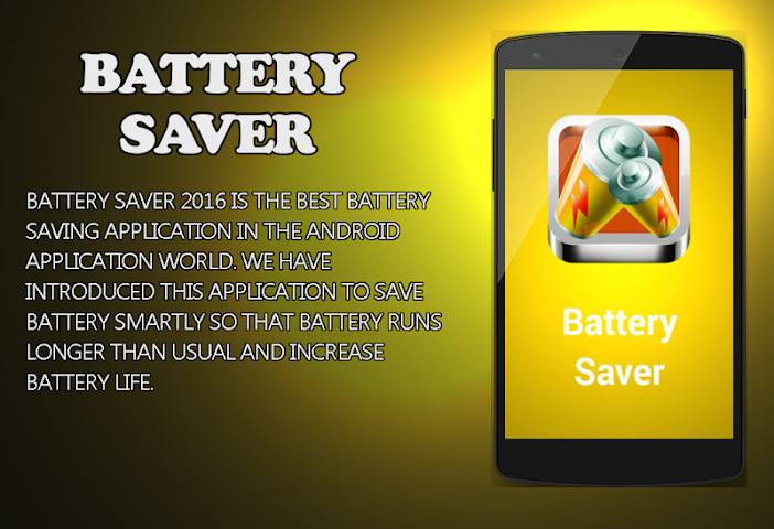 android Fast Battery Saver 2016 Screenshot 0