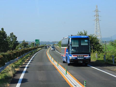 西鉄高速バス「桜島号」 9135 車窓 その3