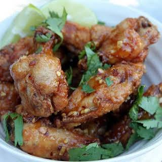 Hanoi-inspired Fried Chicken Wings.