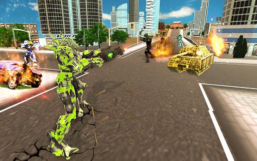 US Army Robot Transformation Jet Robo Car Tank War 1.0.4 screenshots 4