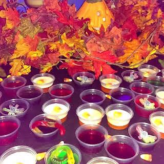 'Witches Brew' Sour Apple Pucker Jello Shots!.