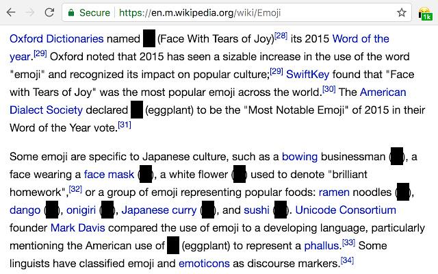 Emoji Censor