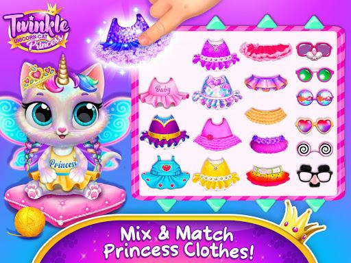 Twinkle - Unicorn Cat Princess screenshots 16