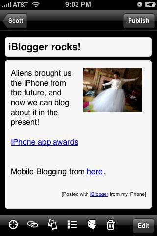 iBlogger