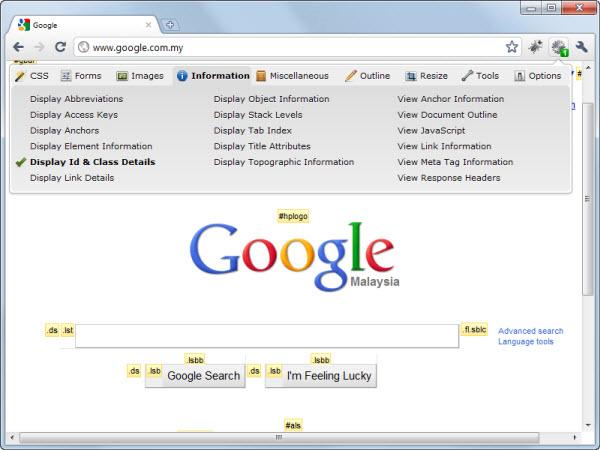 Расширения Google Chrome для дизайна и веб-разработки