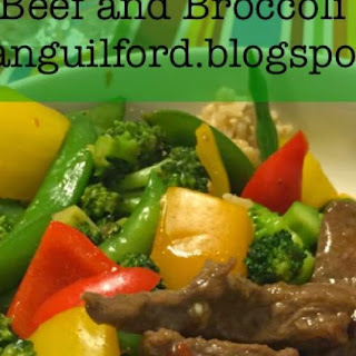 Beef and Broccoli (21 Day Fix)