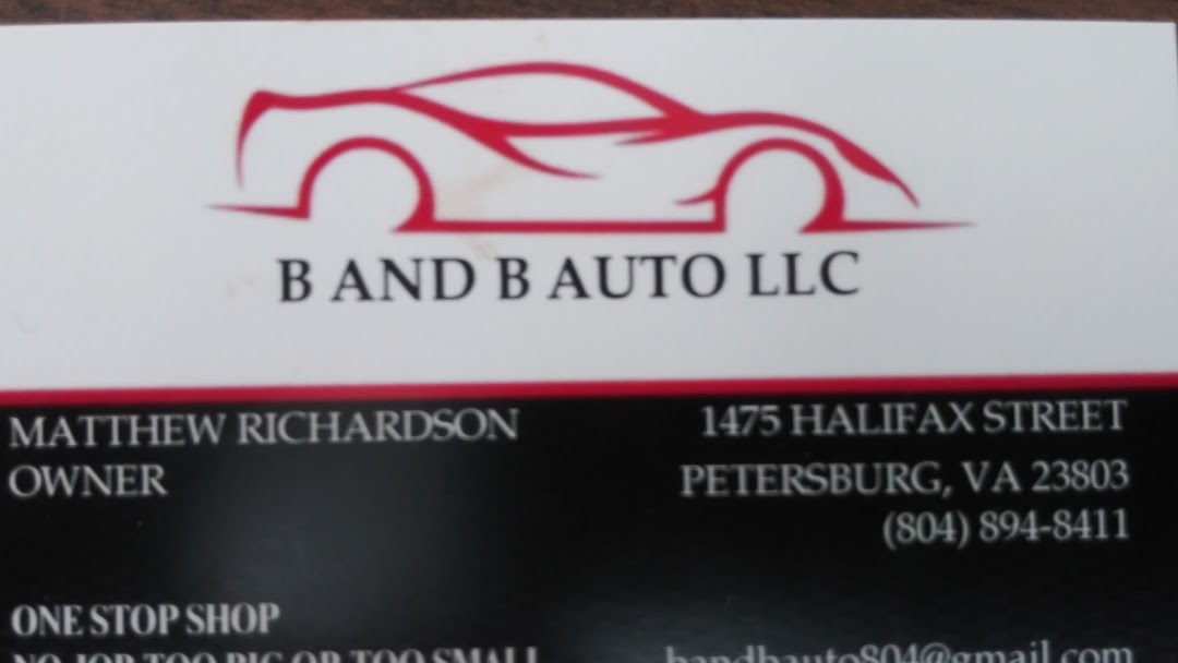 B And B Auto >> B And B Auto Llc Auto Repair Shop In Petersburg