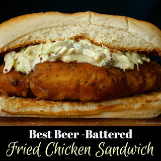 Best Beer Battered Fried Chicken Sandwiches (or Tenders).