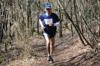 Photo: Course hors stade  22/03/2014  Trail des Trois Chapelles Bains-sur-Oust  15 km  Bertrand Montreuil  La Chapelle Bouëxic