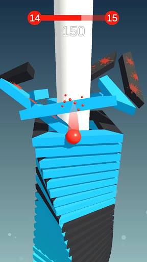 Stack Ball - Blast through platforms - screenshot