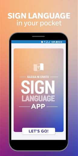 Iglesia Ni Cristo Sign Language App 2.9 screenshots 1