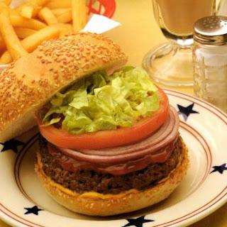 Classic Diner Hamburger