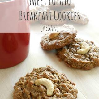 Sweet Potato Breakfast Cookies (vegan, paleo)