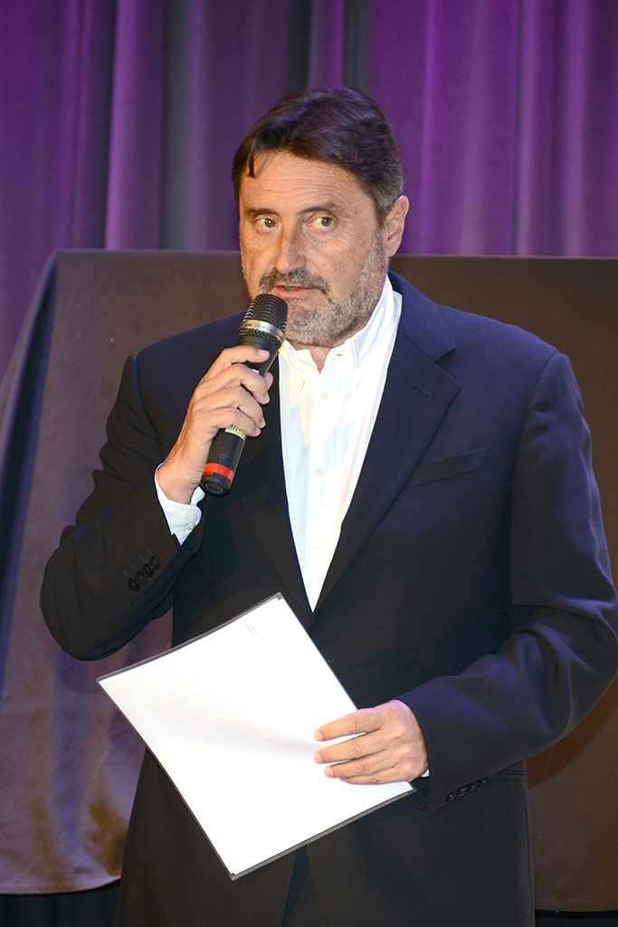 Jesus Lopez, Chairman/CEO Universal Music Latin America/Iberian Peninsula attends a press conference