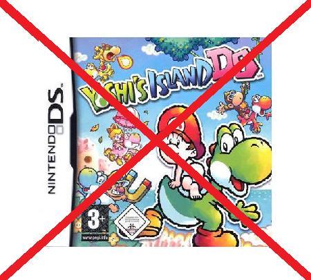 No Yoshi´s Islan DS