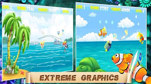 Ninja Fish - Fish Cut 1.0.2 screenshots 7