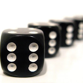 SIXES by Michael Summers - Artistic Objects Other Objects ( dice, die, sixes, six )