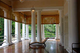 Photo: Year 2 Day 107 -  Colonnade Surrounding the Ballroom at Suffolk House