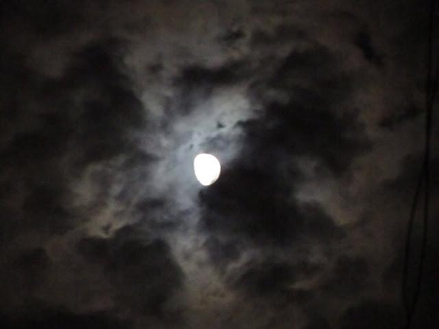诡异的月影……有妖气