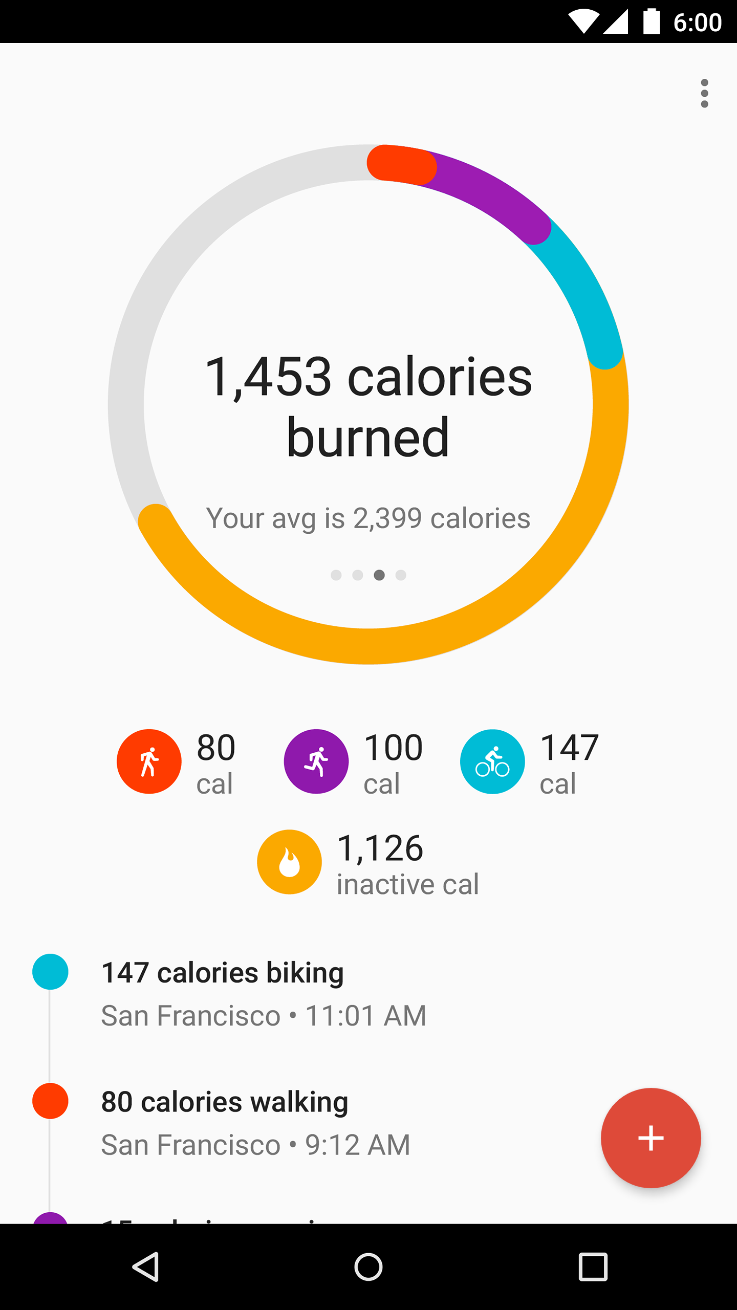 Google Fit - Fitness Tracking screenshot #1
