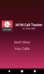 M1M Call Tracker for Zoho CRM- screenshot thumbnail