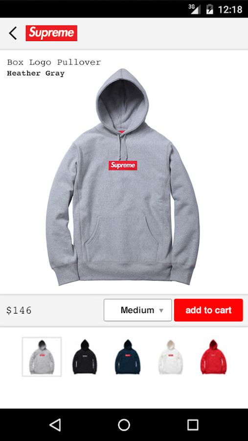 Supreme- screenshot
