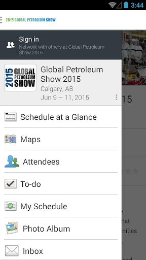 Global Petroleum Show 2015