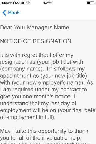 Casino dealer resignation letter