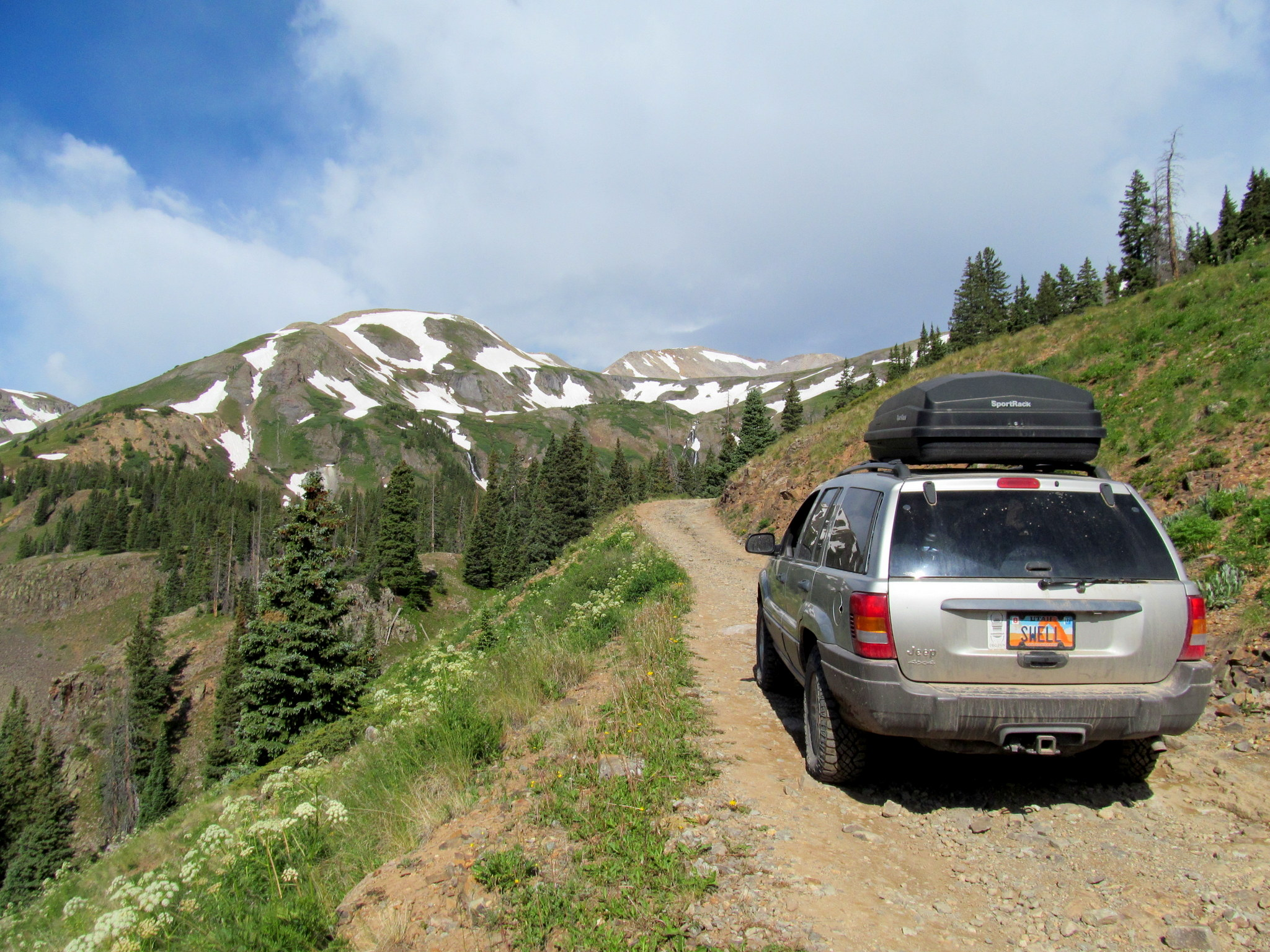 Photo: Climbing to Black Bear Pass