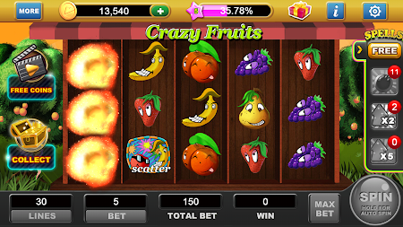 Free Coin Slots: Crazy Fruits 1.4 screenshot 77924