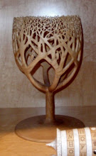 Photo: A turned and carved tree by T. Reuschke.