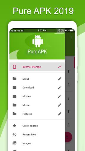 PureAPK File Manager screenshot 1