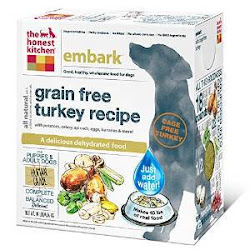 The Honest Kitchen Dehydrated Grain Free Dog Food - Turkey Recipe