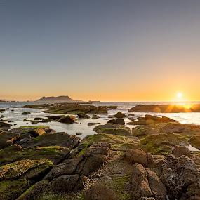 Good morning little UK and Spain by Torsten Funke - Landscapes Sunsets & Sunrises ( gibraltar, vacation, mediterranean sea, traval, urlaub, vacationmode, mediterranean, sea, seascape, sunrise, landscape, spain, coast,  )