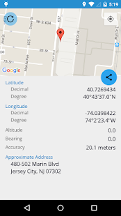 My Geo Position - náhled