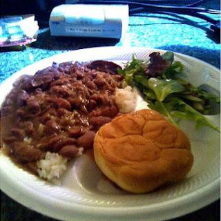 Louisiana Red Beans & Rice.