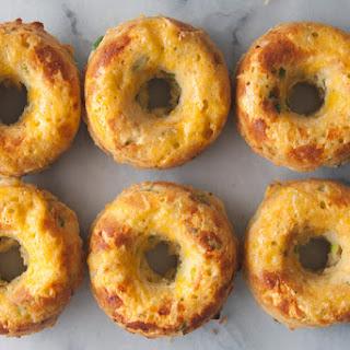 Cheddar Jalapeño Green Onion Donuts