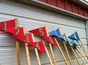 Photo: Session number flags