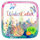GO SMS WATERCOLOR THEME