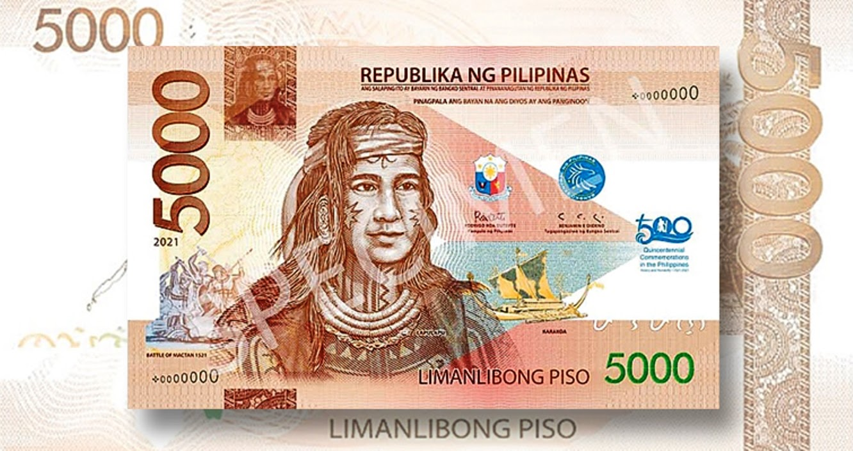 Philippines celebrates Hero Lapu-lapu in ₱5000 Bank Note
