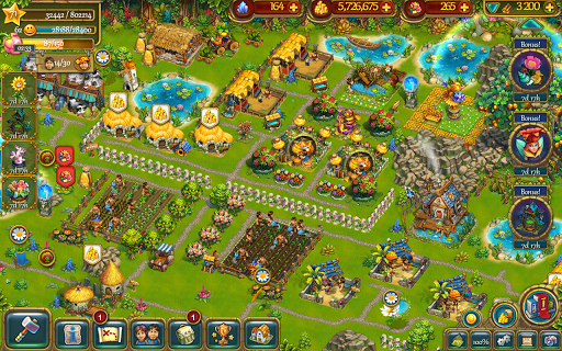 The Tribez: Build a Village game (apk) free download for Android/PC/Windows screenshot