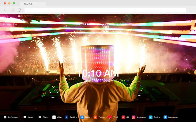 Marshmello New Tab HD DJ Wallpapers Theme