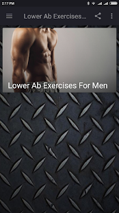 Lower Ab Exercises For Men - náhled
